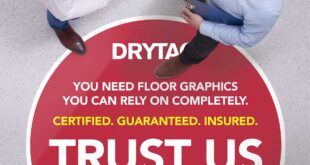 Drytac helps ensure floor graphics are safe and legal in public spaces