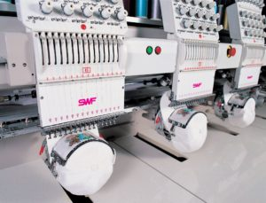 Embroidering caps is a breeze with an SWF machine