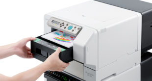 Roland DG launched new DTG printer at P&P LIVE!