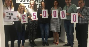 CLIC Sargent raises £50,000 with the help of BTC activewear