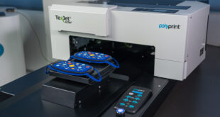 Polyprint releases a new 2-in-1 'Fit & Flat' snap-on face mask platen