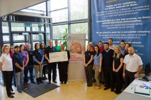 Gilt Edged staff raise over £2,000 for Action Medical Research