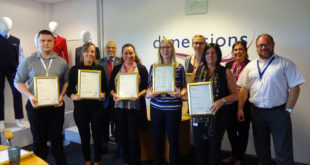 Dimensions staff achieve NVQ qualifications