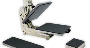 New space saving heat press added to TheMagicTouch's portfolio
