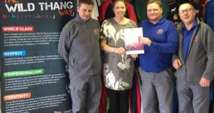 Wild Thang awarded the Workplace Wellbeing Charter