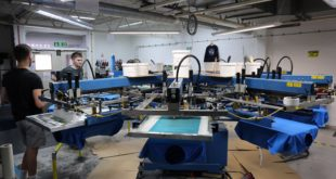 UK T-Shirt Printing moves to new solar powered factory