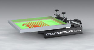 Craft and hobby screen printing press introduced by Vastex