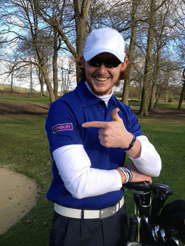 Henbury backs rising golf star James Tobia