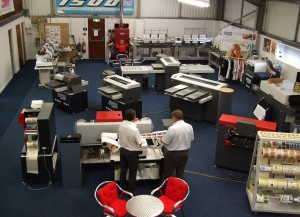 The showroom expansion