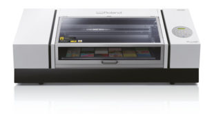 Roland DG launches VersaUV LEF2-300 benchtop UV flatbed printer