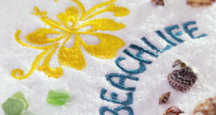 Tips for successful embroidery on towels
