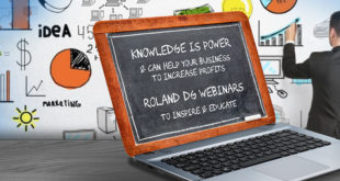 Roland DG launches new series of webinars today