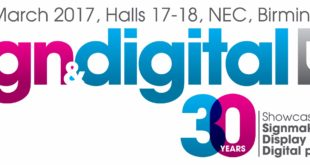 Sign & Digital UK to celebrate its 30th anniversary