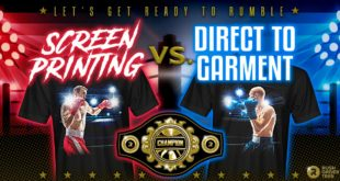 Screen Printing vs DTG: 10-round battle for Print Method Championship of the World