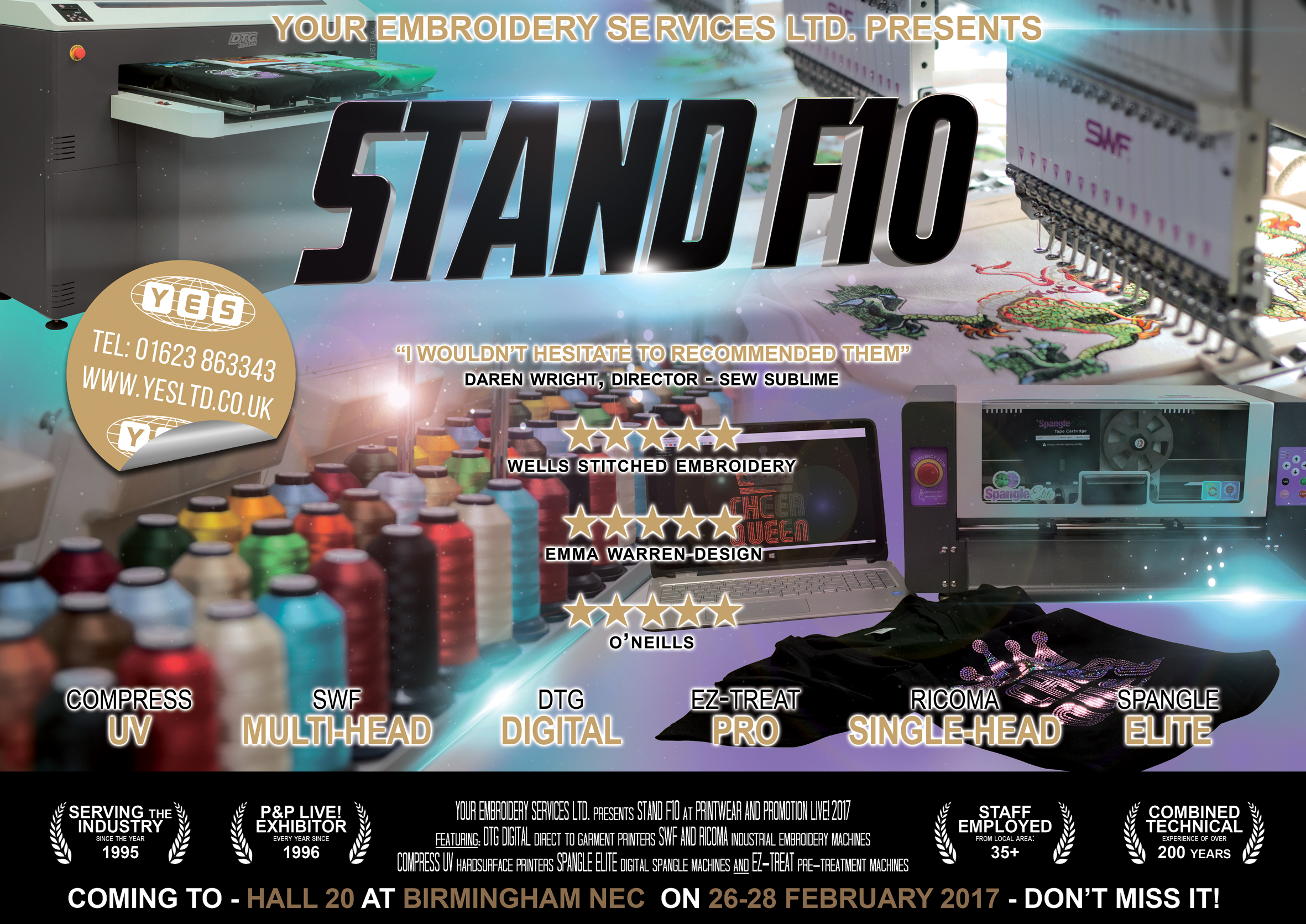 Stand F10 Promo Poster