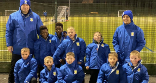 Result continues to support kids' football club