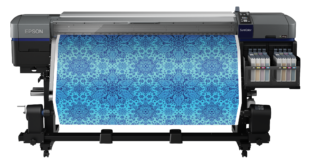 Epson announces new flagship high-volume dye sub textile printer