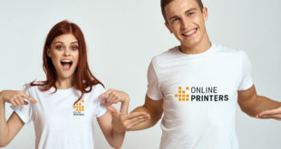 Onlineprinters introduces garments for men, women and children