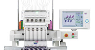 AJS introduces new Tajima single-head embroidery machine this autumn