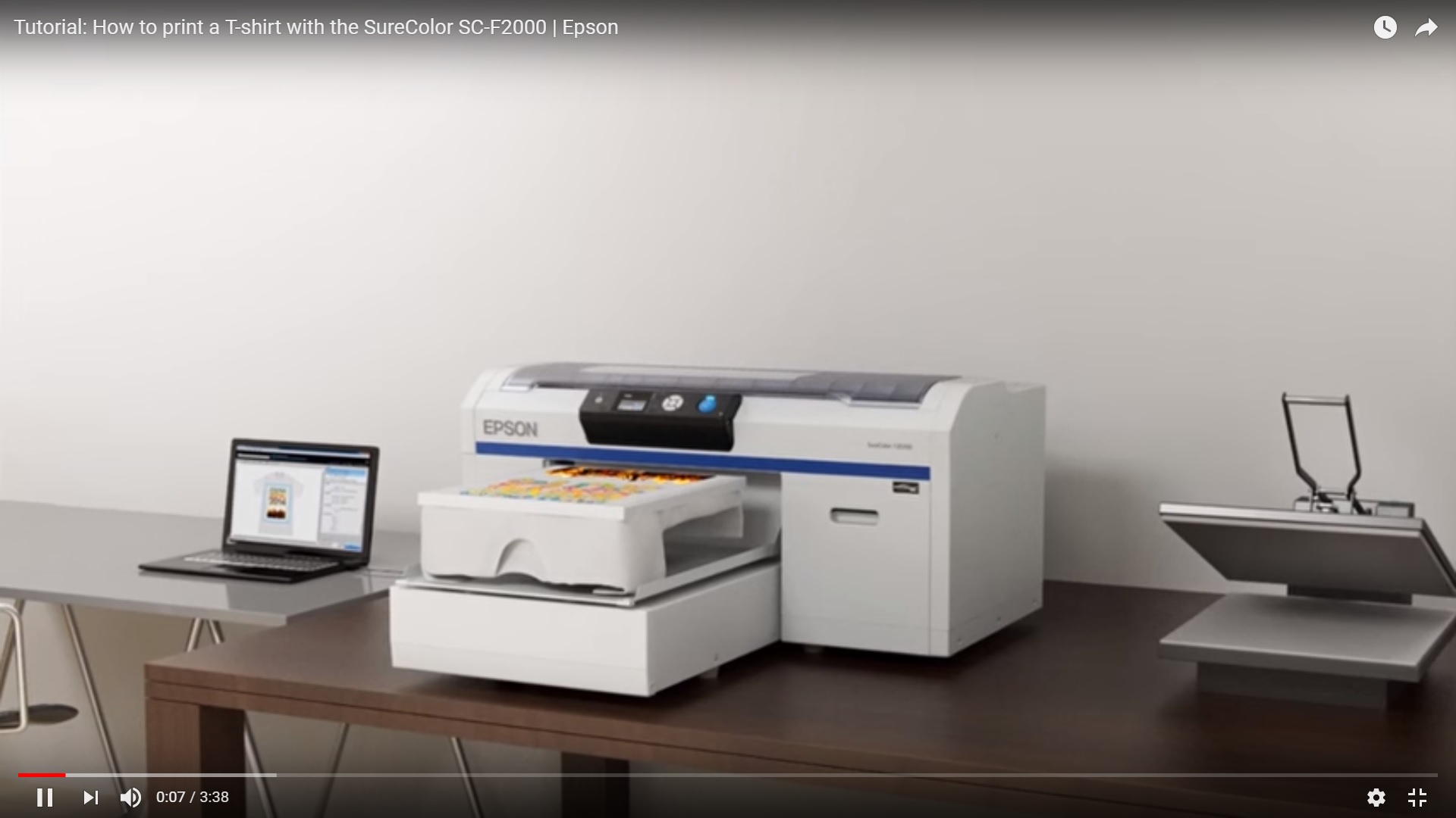 Epson T Shirt Printer Review - Nils Stucki Kieferorthopäde
