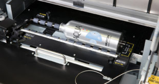 Mutoh releases rotary print system for ValueJet 626UF flatbed UV LED printer