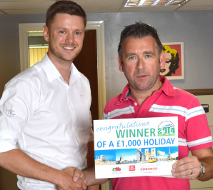 12 lucky winners score £1,000 worth of holiday vouchers thanks to BTC activewear