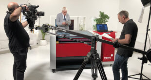 Trotec laser cutter features on Channel 5's Gadget Show