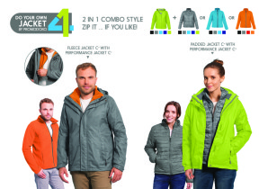 Create your own jacket with Promodoro