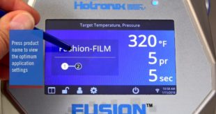 New Fusion IQ control board is added to Hotronix Fusion heat presses