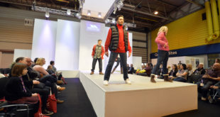 Trepass on the fashion show catwalk at P&P LIVE! 2016