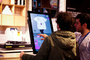 Interactive touch-screens