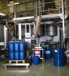 Inside the CPS mixing facility